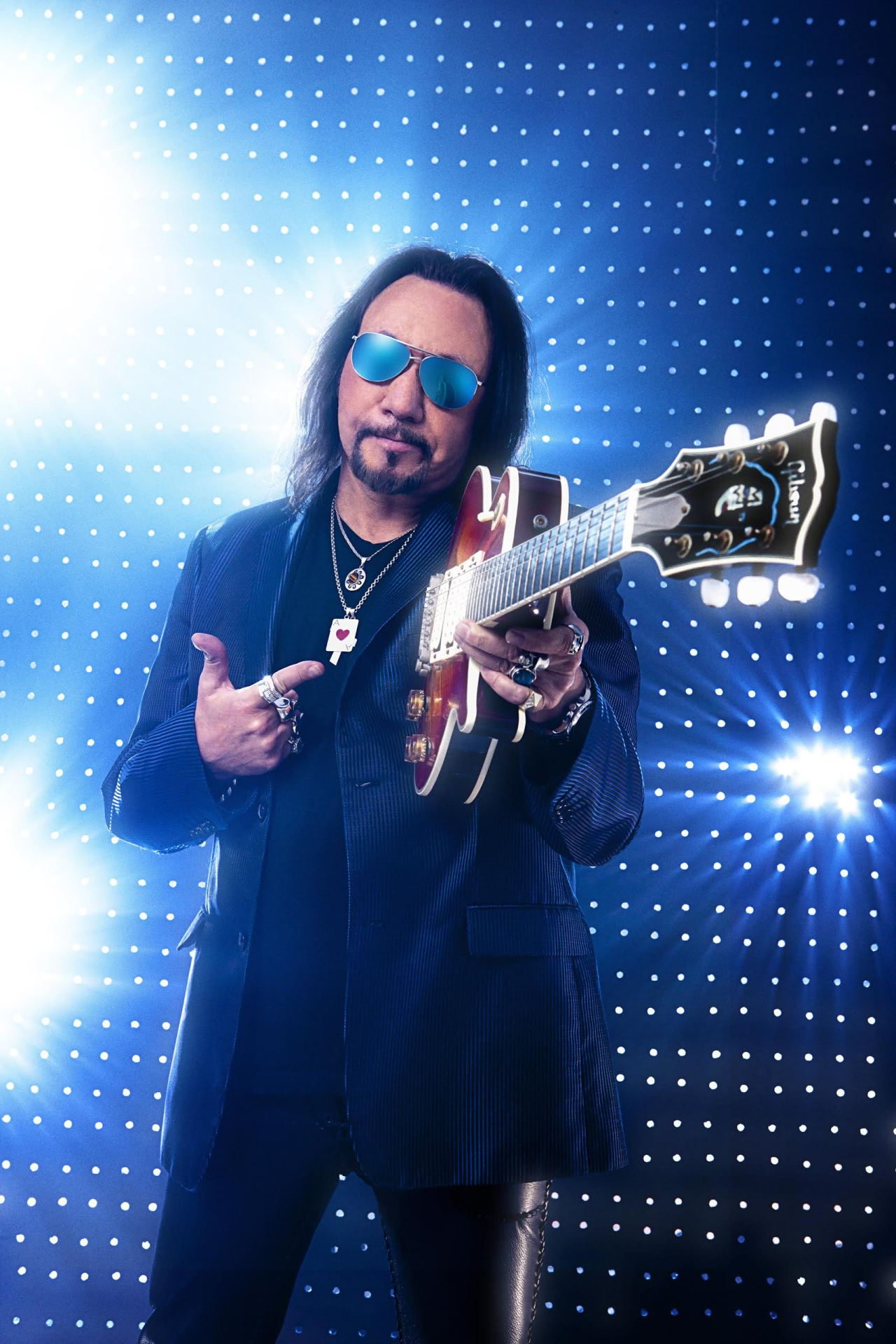 Ace Frehley styled by Judi Longo
