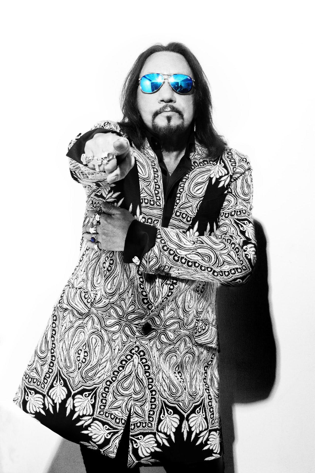 Ace Frehley styled by Judi Longo