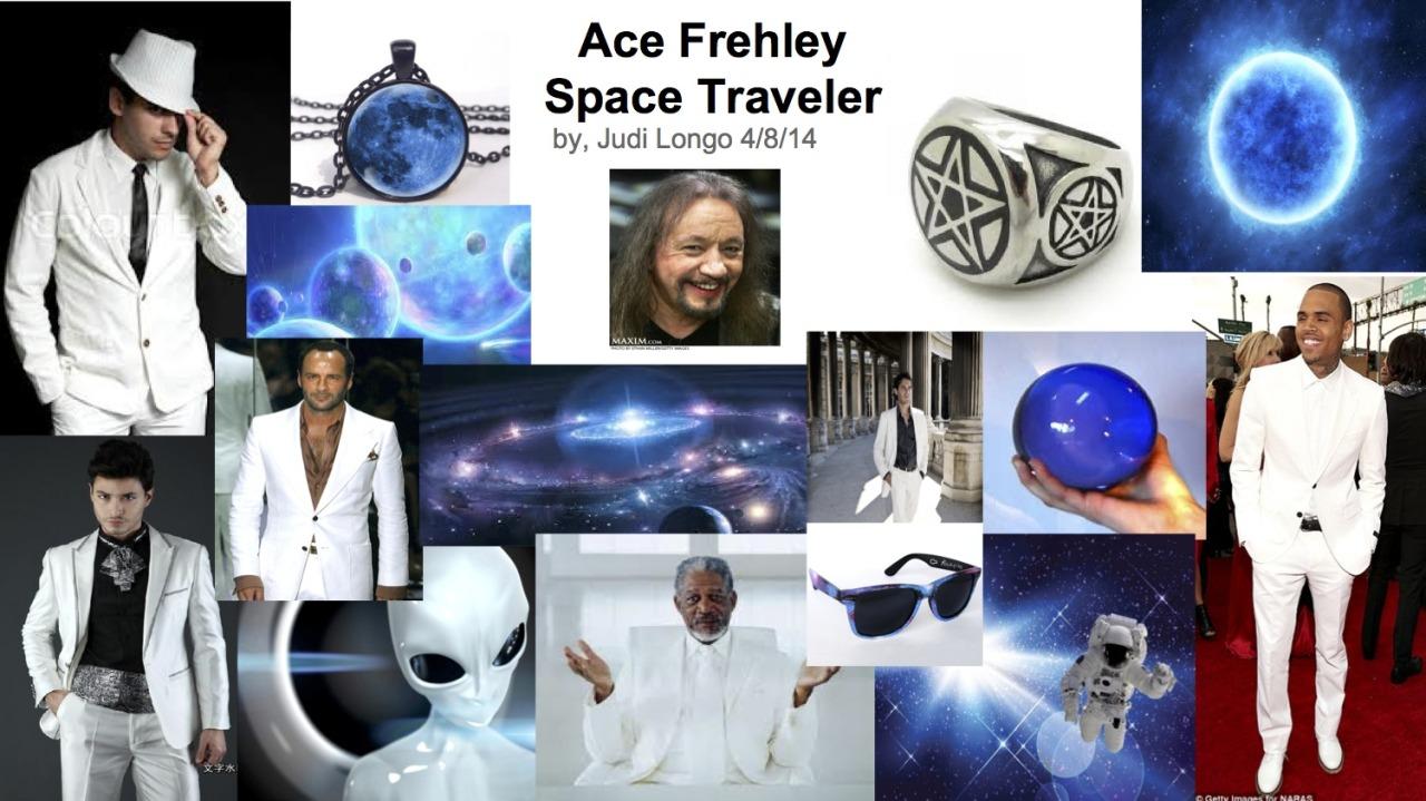 Ace Frehley Style Board by stylist Judi Longo