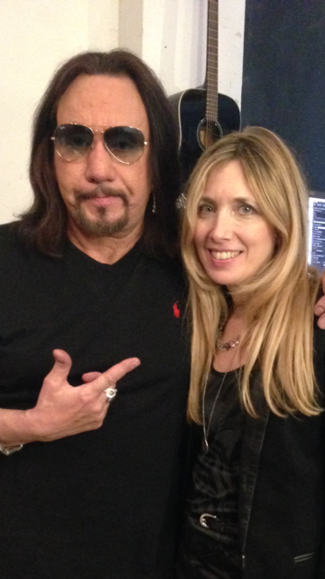 Ace Frehley and stylist Judi Longo