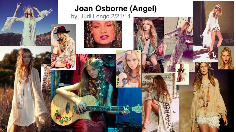 Joan Osborne Style Board by stylist Judi Longo